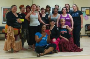 Happy Dancers at the end of our workshops from Raven
