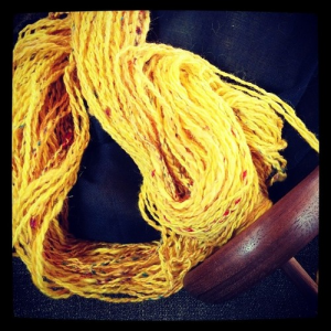 skeining off my Bollywood yarn, #CREATE day70